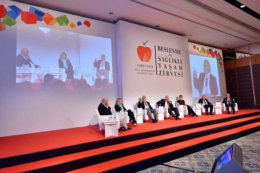 Sabri Ülker Gıda Araştırmalar Vakfı  1. Beslenme ve Sağlıklı Yaşam Zirvesi  Four Seasons Bosphorus Hotel…